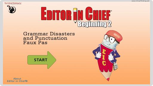 editor in chief® beginning 2 screenshot 1