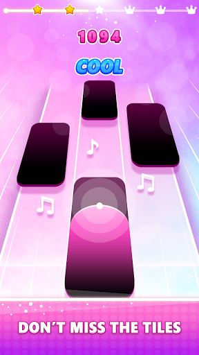 Magic Pink Tiles: Piano Game apktram screenshots 4