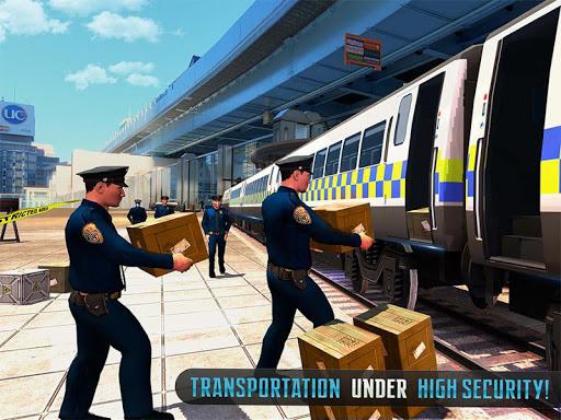 Police Train Shooter Gunship Attack : Train Games  Screenshots 15