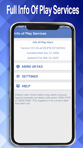 Play Services Update Info 2021    Play Store Info 5
