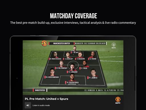 MUTV u2013 Manchester United TV 2.9.3 Screenshots 9