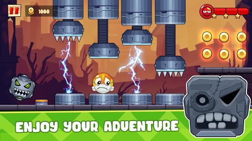 Ball's Journey 6 - Red Bounce Ball Heroes screenshots 8