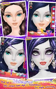 Halloween Makeup Me screenshots 8