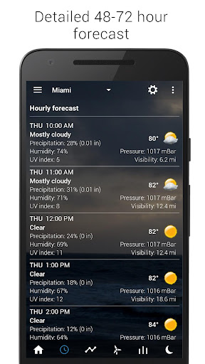 Sense Flip Clock & Weather 5.81.7 Screenshots 7