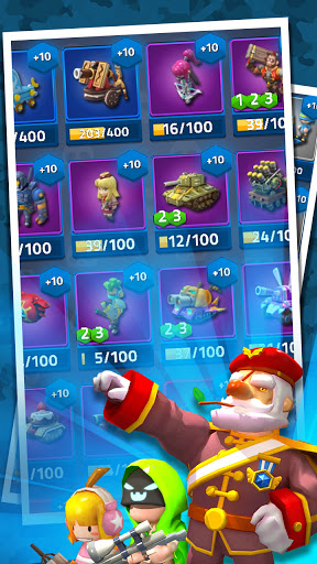 Toy Battle : PvP defense 1.9.1 screenshots 10