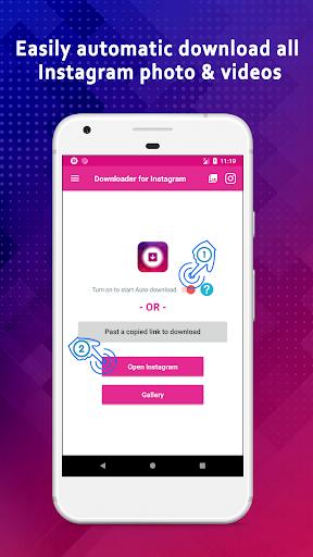 Video Downloader for Instagram & IGTV modavailable screenshots 9