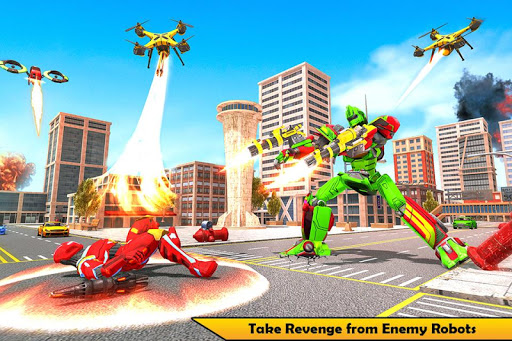 Drone Robot Transforming Game  screenshots 1