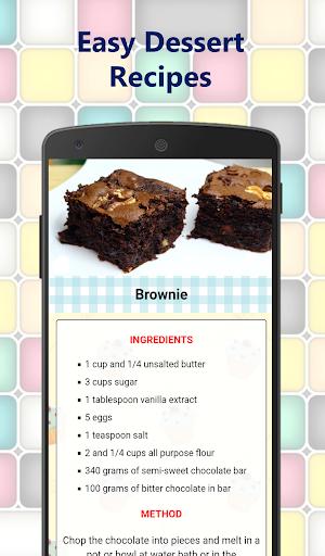 Easy Dessert Recipes for free – Cake homemade  screenshots 3