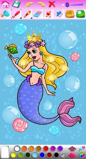 Princess Coloring Game screenshots 24