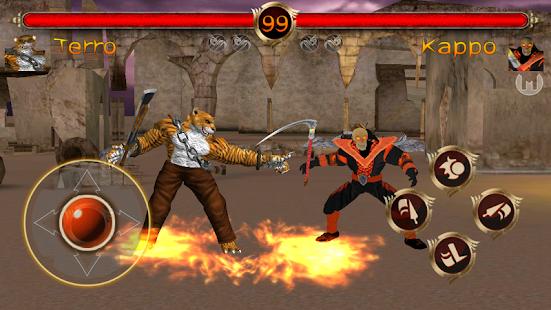 Terra Fighter 2 - Fighting Games screenshots 1