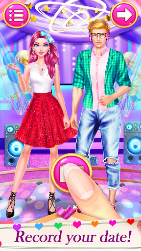 High School Date Makeup Artist - Salon Girl Games 1.1 screenshots 1