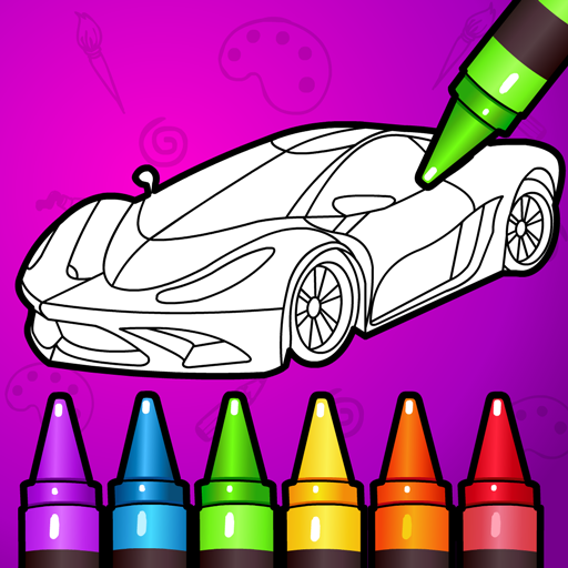 🚗 Learn Coloring & Drawing Car Games for Kids  🎨