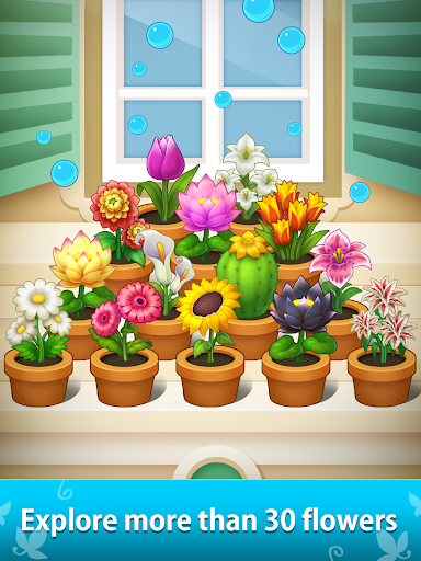 FlowerBox: Idle flower garden  screenshots 14