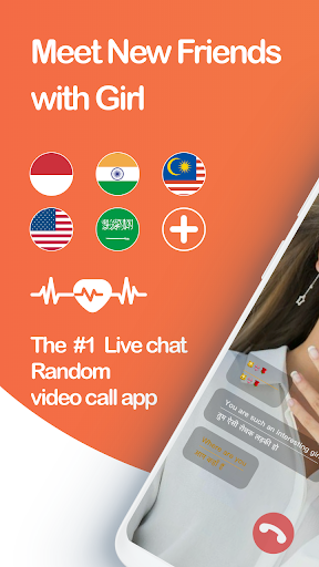 Live Chat Video Call with strangers-Whatslive 2.0.86 screenshots 1