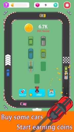 Merge Rally Car - idle racing game  screenshots 2