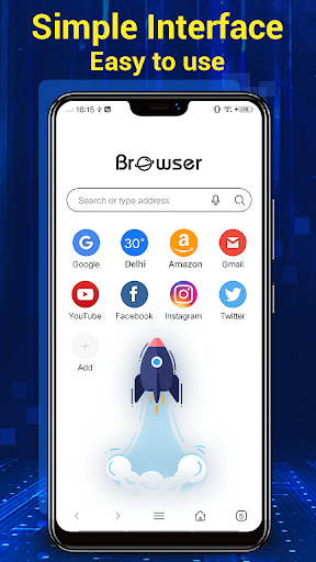 Browser for Android 2.0.1 Screenshots 2