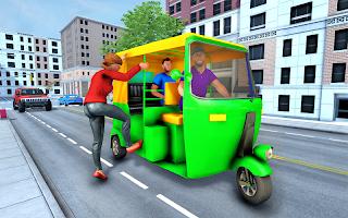 Crazy Tuk Tuk Taxi Simulator