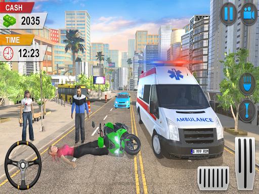 Emergency Ambulance Game - New Games 2020 Offline 1.1.14 screenshots 9