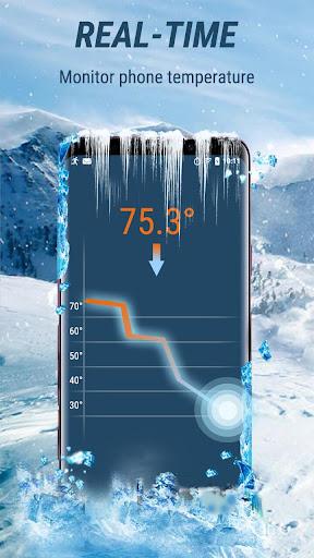 CPU Cooler - Cooling Master, Phone Cleaner Booster apktram screenshots 1