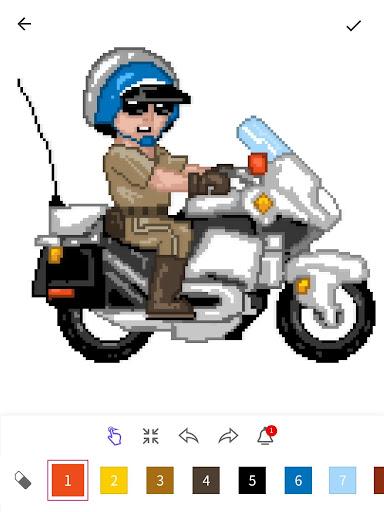 InDraw - Color by Number Pixel Art apktram screenshots 12