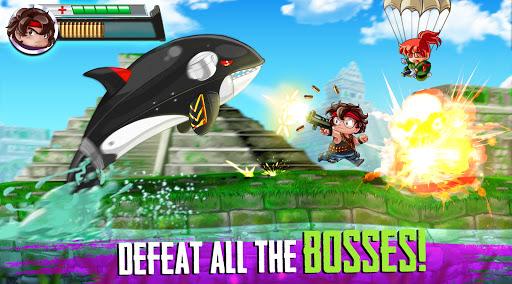 Ramboat 2 - Run and Gun Offline FREE dash game screenshots 3
