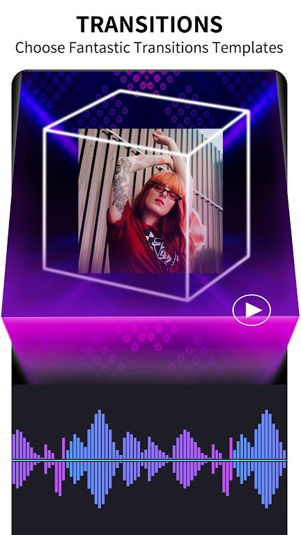 CupCut - Photo Music Video Editor and Maker -Vidos poster 2
