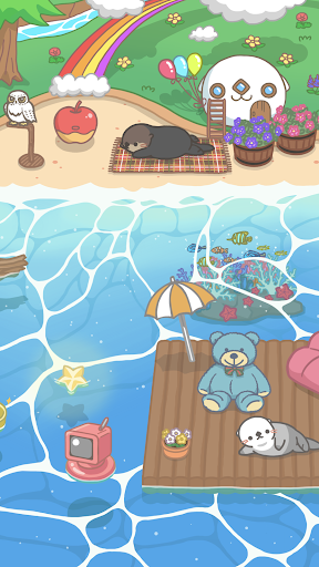 Rakko Ukabe - Let's call cute sea otters! 1.2.15 screenshots 2