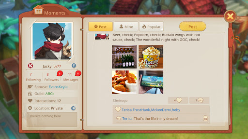 Guardians of Cloudia Apkfinish screenshots 15