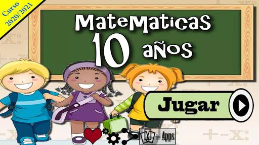 Matemu00e1ticas 10 au00f1os apkdebit screenshots 1