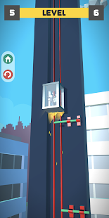 Lift Survival 3D - elevator rescue surviving game Screenshot