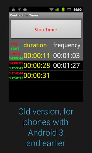 Contraction Timer For PC Windows (7, 8, 10, 10X) & Mac Computer Image Number- 6
