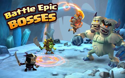 Dungeon Boss Heroes - Fantasy Strategy RPG  screenshots 8