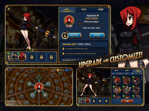 Skullgirls: Fighting RPG  screenshots 10