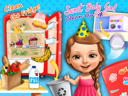 Sweet Baby Girl Cleanup 4 - House, Pool & Stable 4.0.10014 screenshots 23