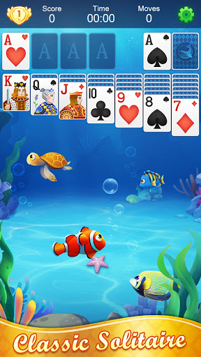 Solitaire Fish - Classic Klondike Card Game android2mod screenshots 9