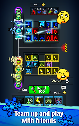 Merge Clash: TD Tower Defense Games  screenshots 9