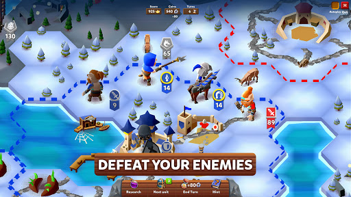 Hexapolis: Turn Based Civilization Battle 4X Game  screenshots 9