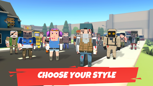Battle Gun 3D - Pixel Block Fight Online PVP FPS apkpoly screenshots 2