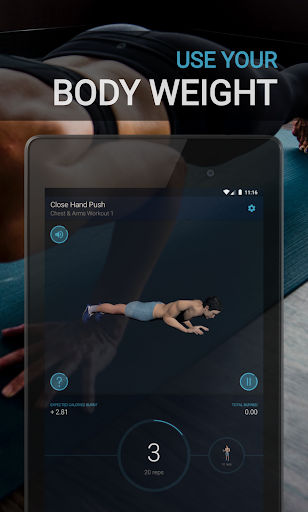 Home Workout - Fitness & Bodybuilding 1.2.6 Screenshots 20