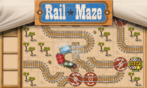 Rail Maze : Train puzzler 1.4.4 screenshots 9