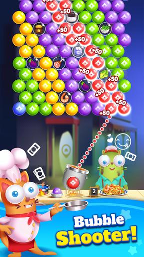 Kitten Games - Bubble Shooter Cooking Game  screenshots 1