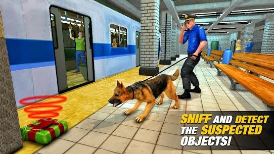 US Police Dog Subway Simulator Games–Crime Chase 4