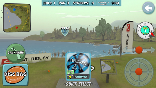 Disc Golf Valley  screenshots 1