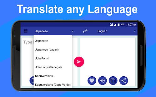 All Language Translator - Translate All Languages