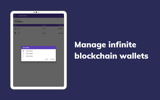 Enjin: Bitcoin, Ethereum, Blockchain Crypto Wallet 1.11.1-r Screenshots 10