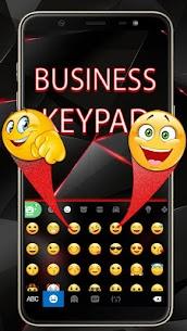 Red Tech Keyboard Theme 3