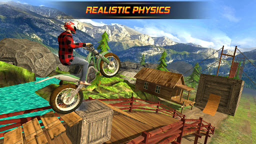 Bike Stunts Racing Free 1.5 Screenshots 4