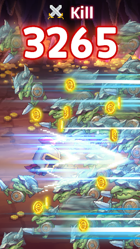 Retro Hero Mr Kim : Idle RPG 6.1.36 screenshots 3