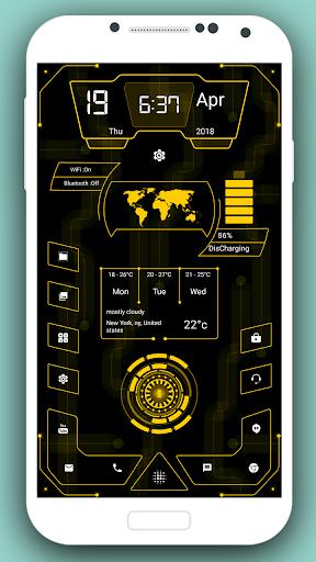 High Style Launcher 2020 - hitech homescreen theme 37.0 Screenshots 3