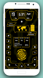 High Style Launcher 2020 - HiTech-Startbildschirm Screenshot